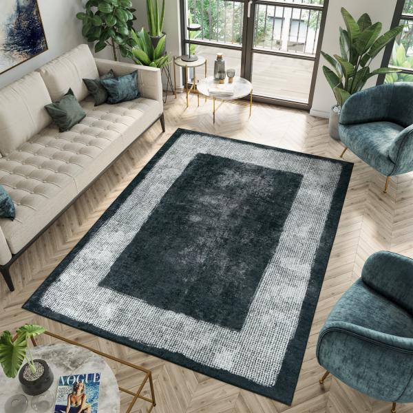 Zeybek 9030 Waschbarer Teppich