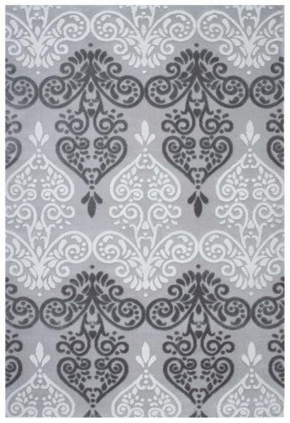 Acryl Teppich Grau Teppich 1855