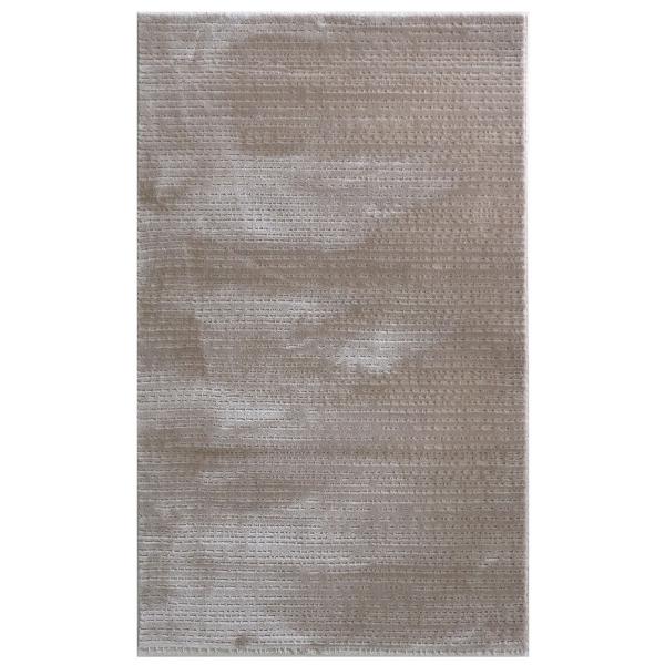 Hochwertiger Polyester Teppich Beige 4131