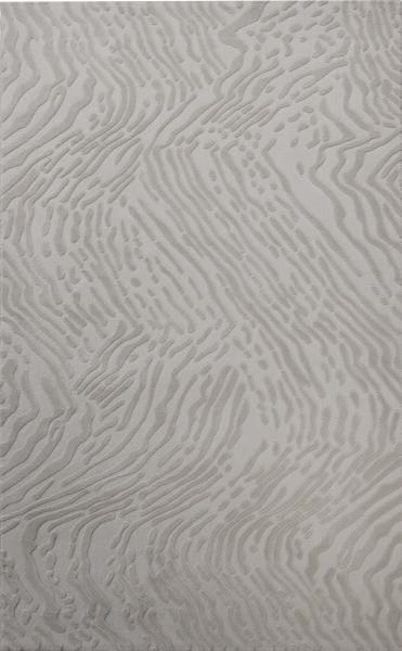 Vintage Tozumaz Polyester Gri Halı Serisi 4216