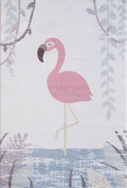 Çocuk Halısı Pastell Renk Flamingo 4610