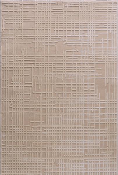 Vintage Teppich Polyester Beige 4215