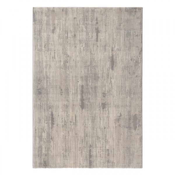 Amatis 6610 Grau Designer Teppich Gestreift