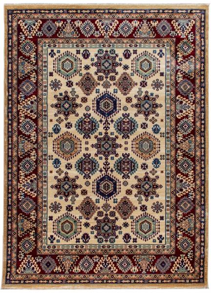 1349 / 010 Ornament Creme Hochwertiger Orientteppich