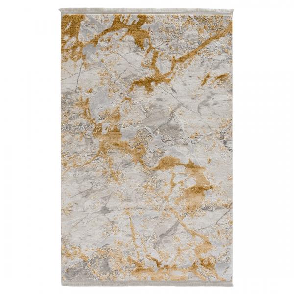 Sanat ince Acryl Teppich Gold 2064