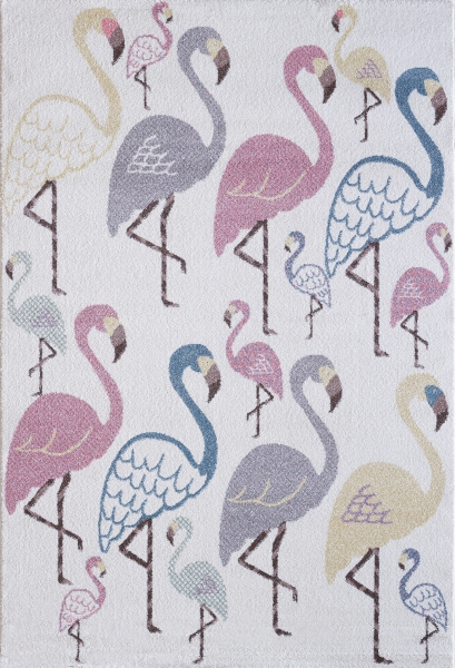 Çocuk Halısı Pastell Renk Flamingo 4612