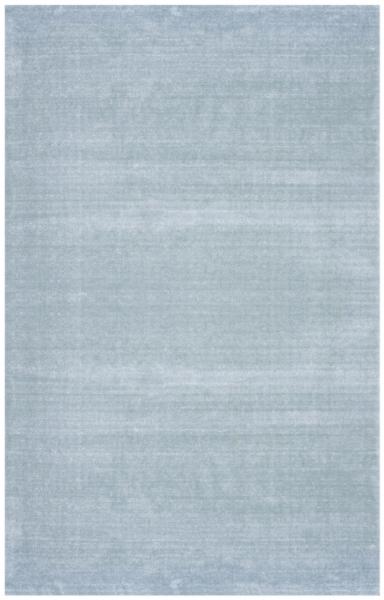 Akrilik Acik Mavi Yesil Cizgili Dekorlu Halı 1924