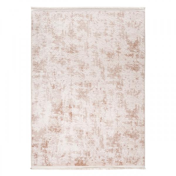 1705 Safran Antibakteriell Waschbarer Teppich Braun
