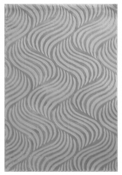 Moderner Teppich Gestreift Grau 4239
