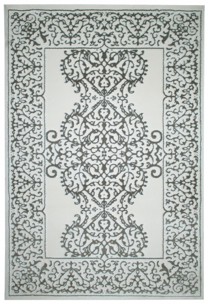 Acryl Teppich Grau Weiss Teppich 1923