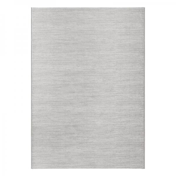 Eliza 4121 Grau Moderner Uni Teppich