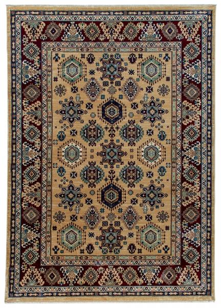 1349 / 040 Ornament Bej Yüksek Kaliteli oryantal Halı