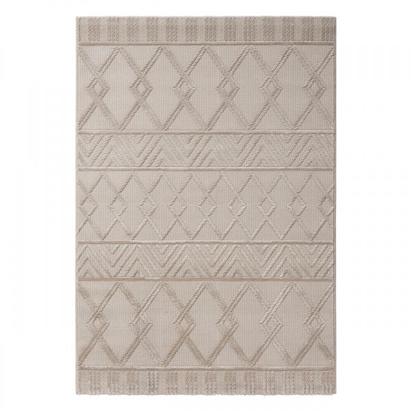 Luxury 6200 Beige Moderner Teppich Skandinavisch
