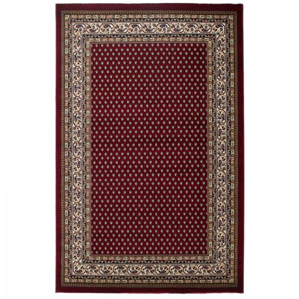 Klassischer Orientteppich mit Bordüre Excellent Rot 808