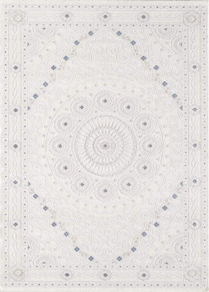 Modern Tasarım Yüksek Kalite Sanat Halı Harmony 3203 Krem