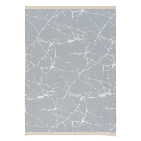 2158 Bamboo Antibakteriell Waschbarer Teppich Grau