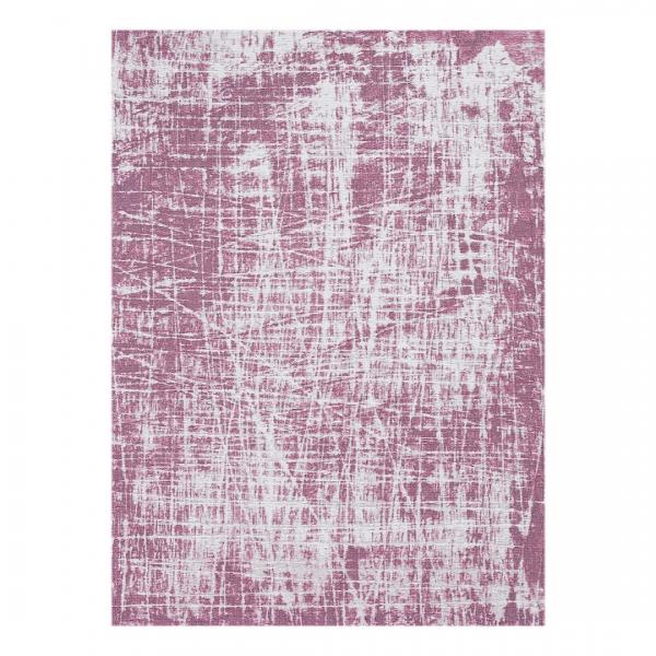Carina 6922 Antibakteriell Waschbarer Vintage Teppich Unifarben