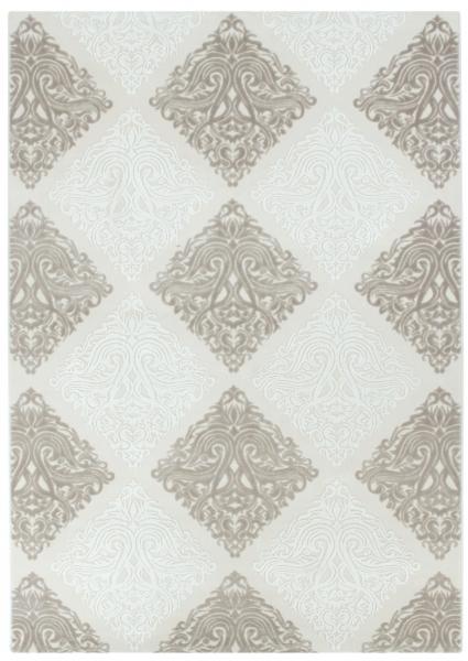 Moderner Teppich mit Versace Muster Beige 1800