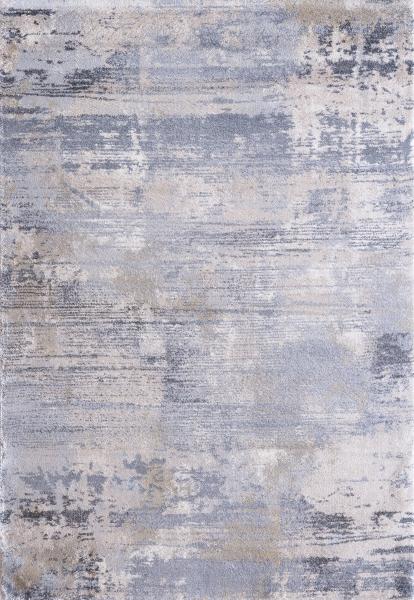 Sanat Halı Soft Yumuşak Yüzey Desenli Krem Mavimsi 2602