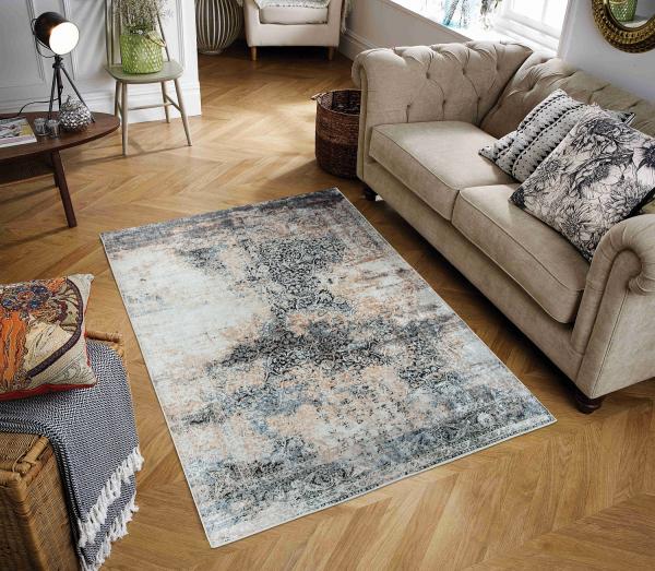 Zeybek 9010 Waschbarer Teppich