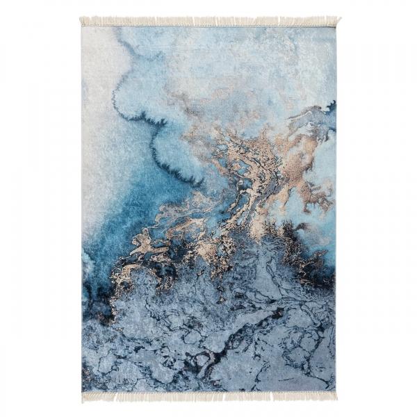Waschbarer Teppich Abstraktes Motiv Caimas 6000