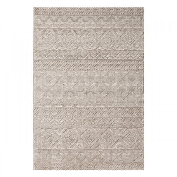 Hochwertiger Teppich Skandinavisch Beige Luxury 6100