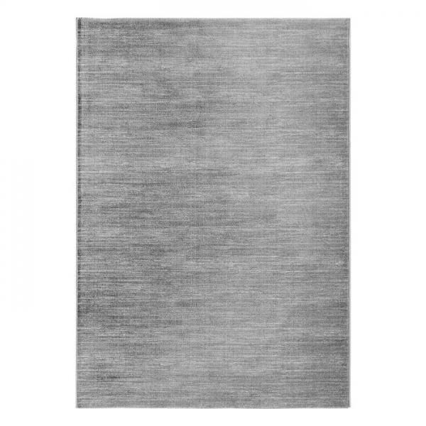 Eliza 4121 Dunkel Grau Moderner Uni Teppich