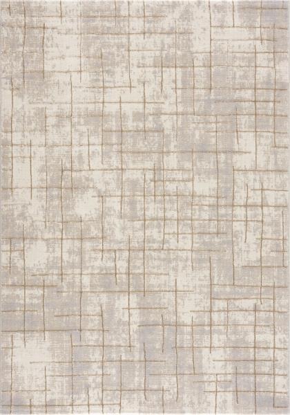 Labra 805 Beige Creme Kurzflor Teppich