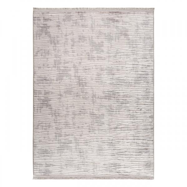 1703 Safran Antibakteriell Waschbarer Teppich Grau