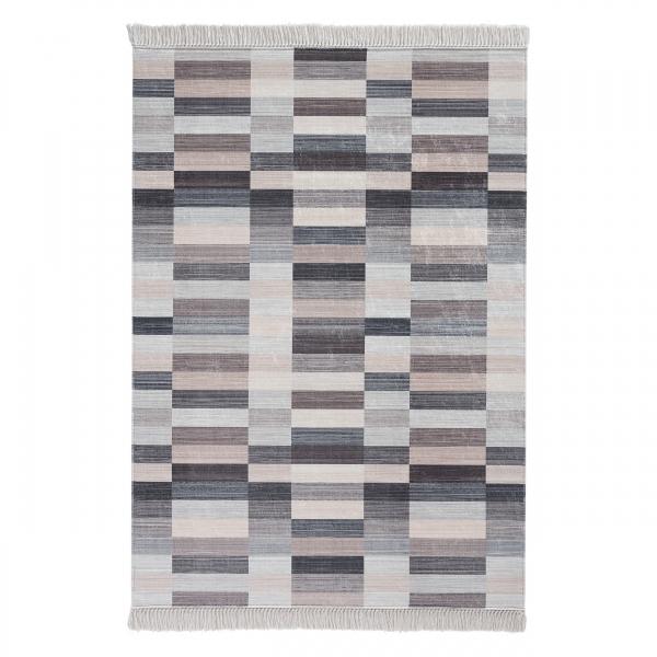 Antibakteriell Waschbarer Teppich Unifarben Design 2951